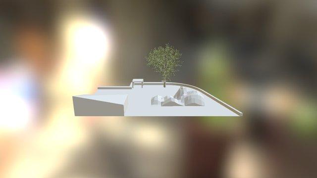 Lama Verblijf Artis 3D Model