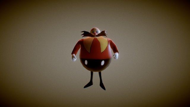 Eggman 3D Model