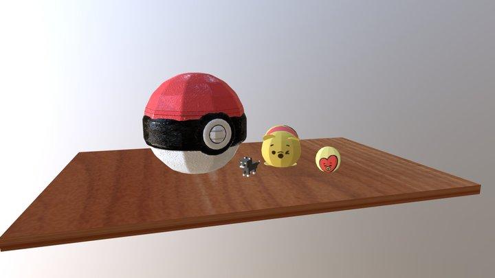 Alt_Still Life 3D Model