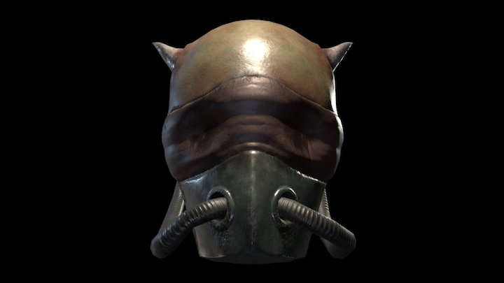 Gas Mask Demon Free download 3D Model