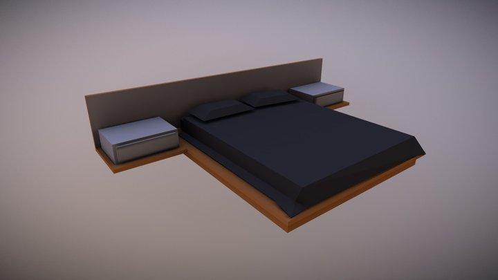 Bed - Household Props Challenge 3D Model