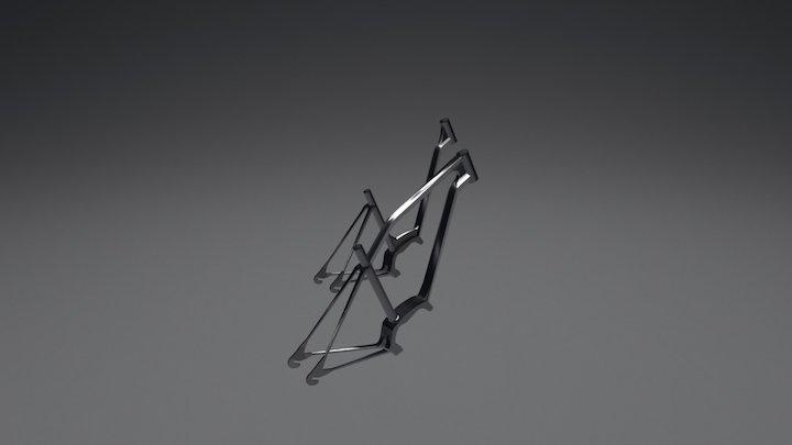 BICYCLE FRAME 3D Model