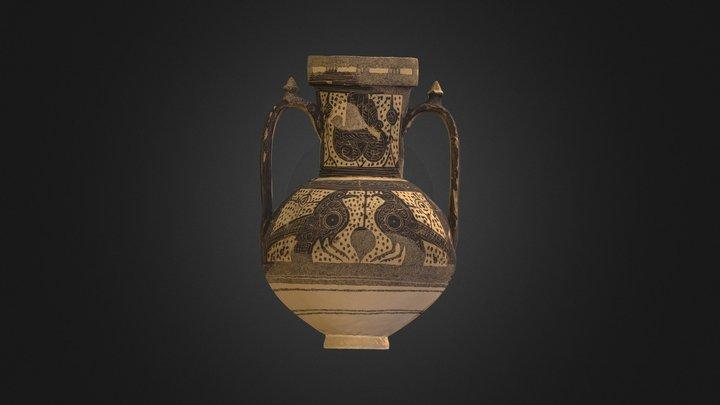 Jarra con decoración simbólica (Cieza, Murcia) 3D Model