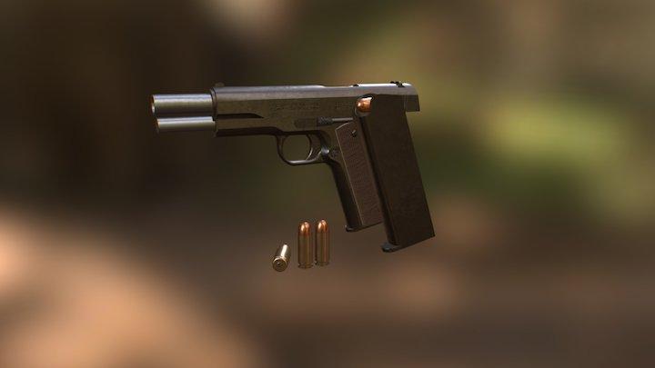 Colt1911 3D Model