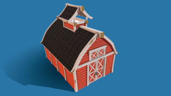 Small Barn 3D Model