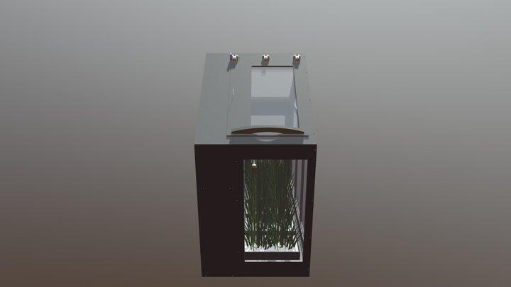 Maquette Serre 3D Sketchup 3D Model
