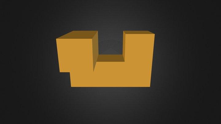 orange piece 3D Model