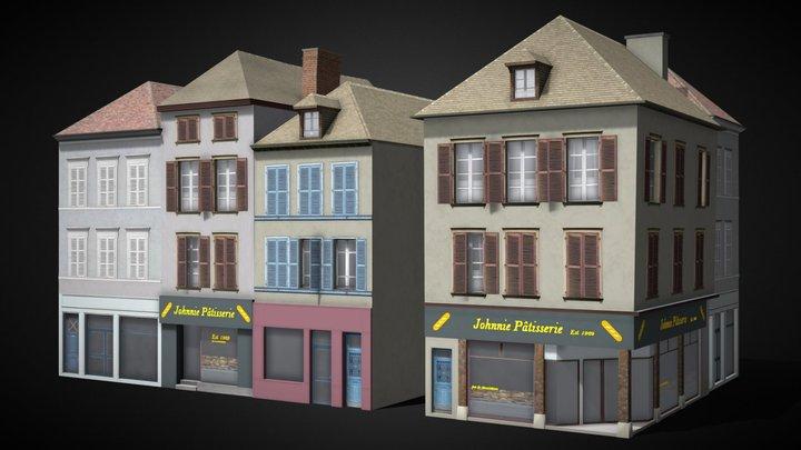 Troyes Shop 7 [France] 3D Model