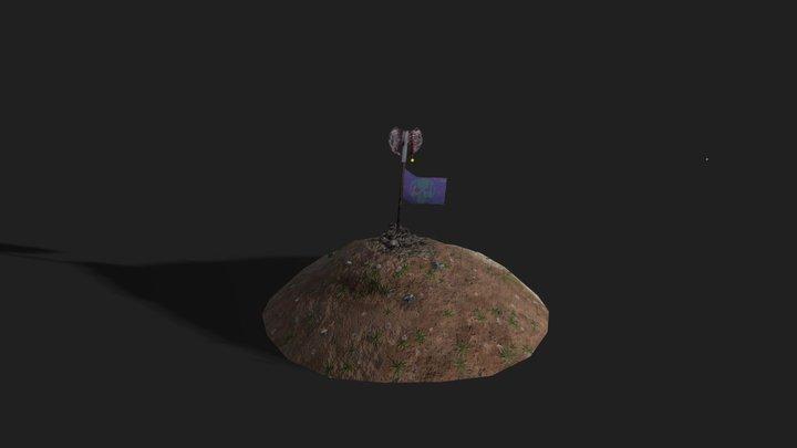 Grave of a Viking 3D Model