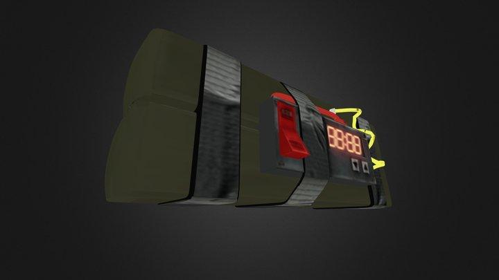 Stickybomb 3D Model