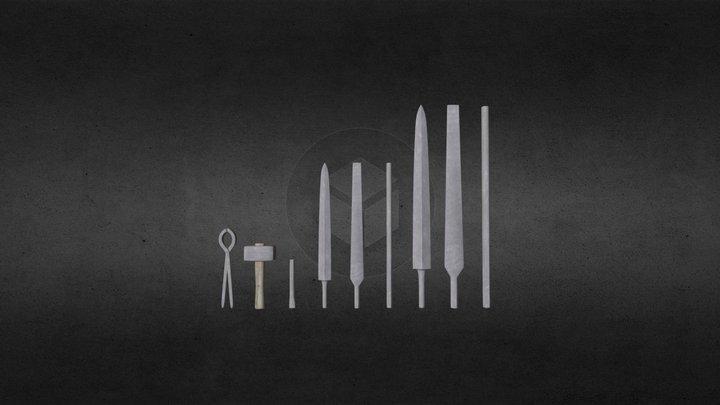 Smith tools 3D Model