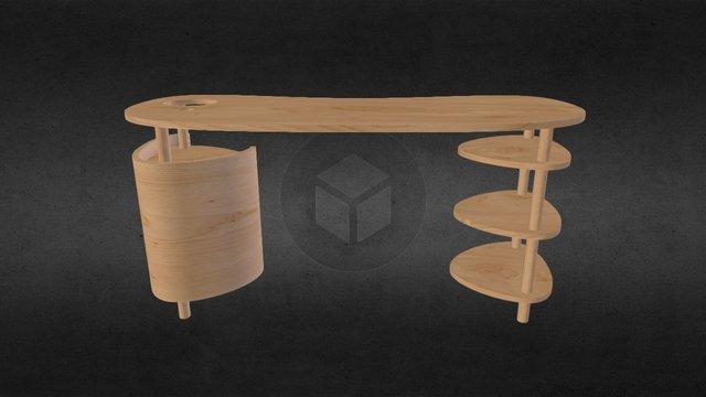 Desk 4 b 3D Model