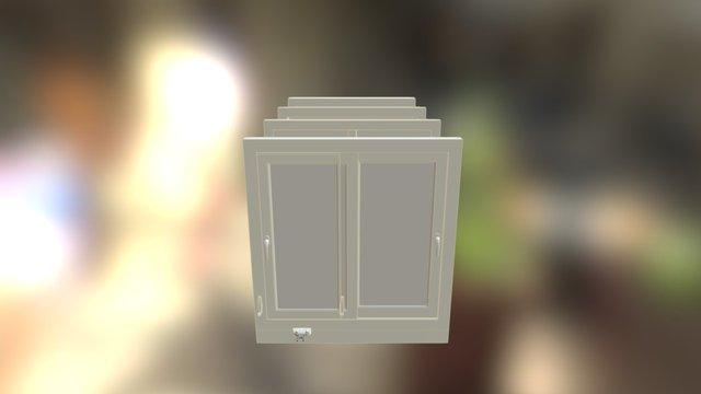 Fenêtres Coupe Verticale 3D Model