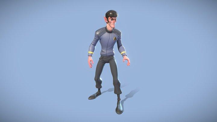 Spock 3D Model