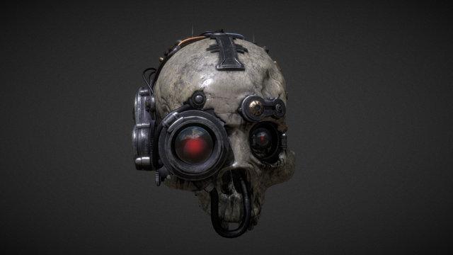 Lord Inquisitor: Servo Skull 3D Model