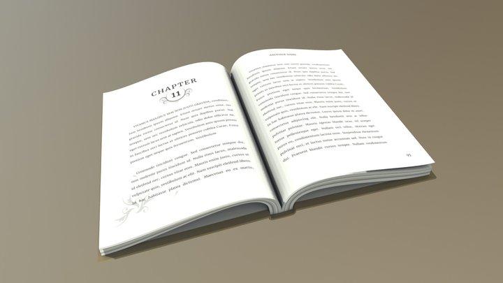 Book 01 3D Model