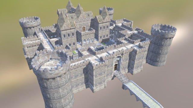 Full Castle Build 03 3D Model