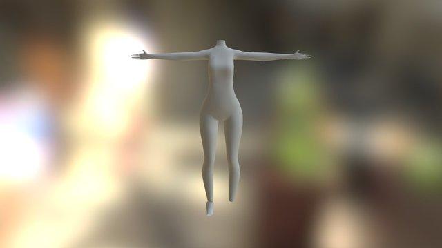 WIP Anime 3D Model