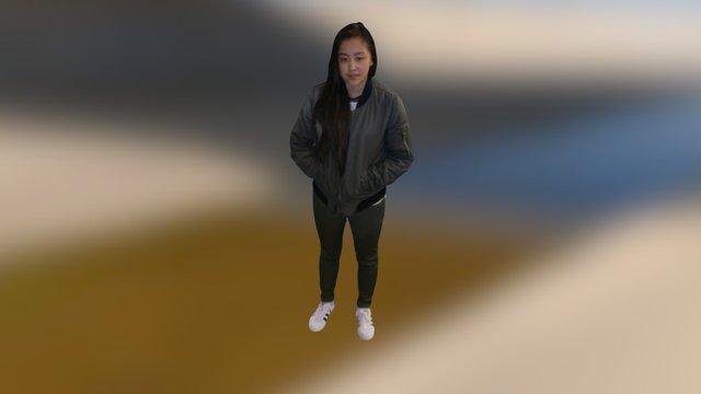 Ashlie 3D Model