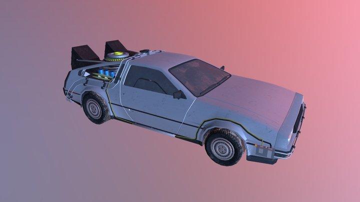 Back to the Future - DeLorean 3D Model