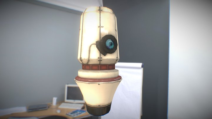 Drone_low 3D Model