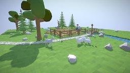 countryside mood 3D Model