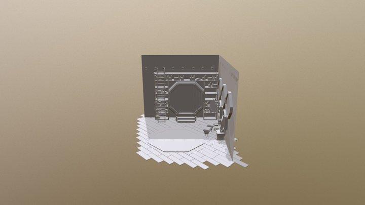 Grey Box 2.0 3D Model