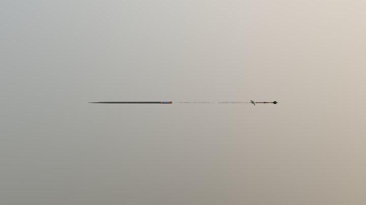 меч 3D Model