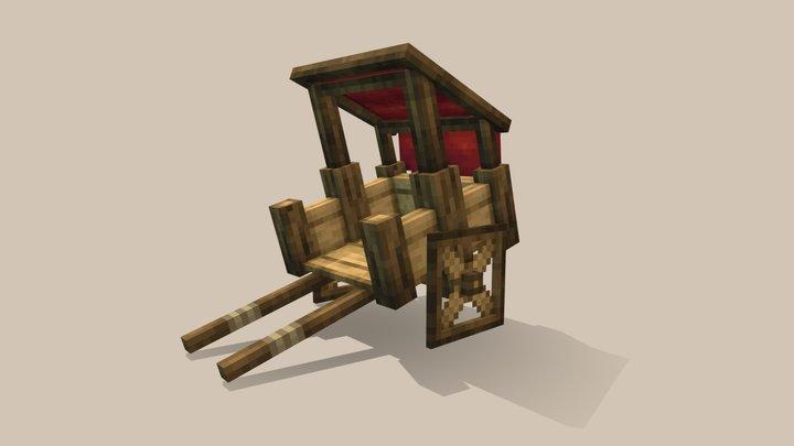 Travellers Cart 3D Model