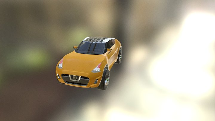 Nissan EXTREME 3D Model