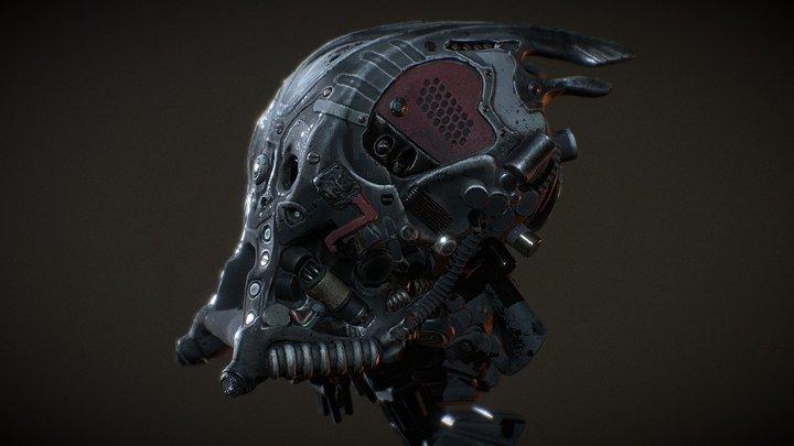 robot_head 3D Model