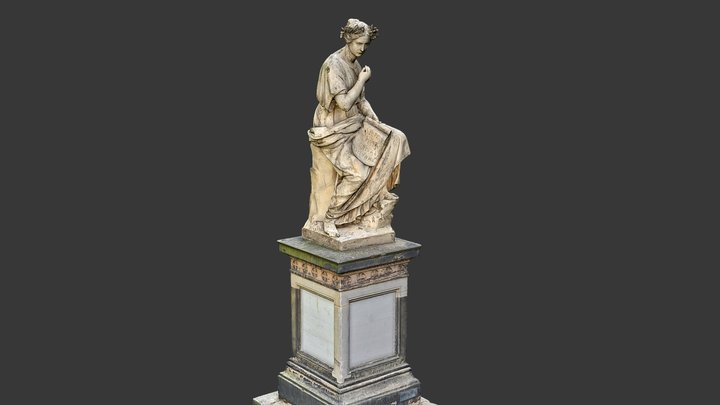 Denkmal der Gefallenen Landwirte 3D Model