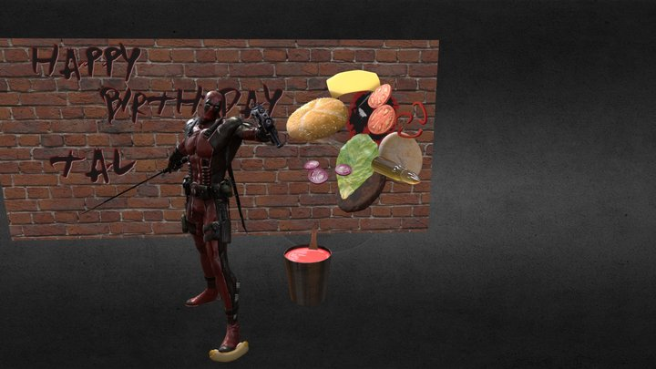 Happy Birthday Tal <3 3D Model