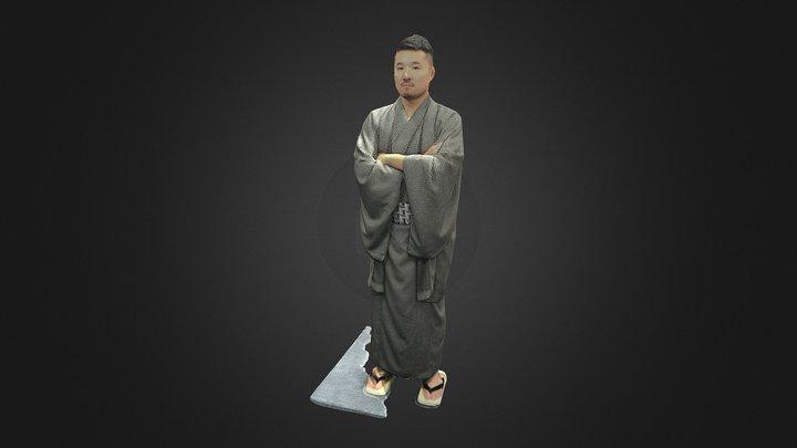 Take-san_Kimono 3D Model