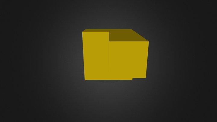 Yellow Part 3D Model