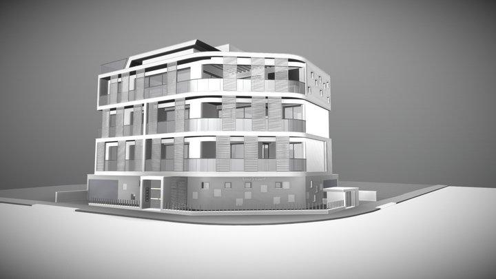 Xenia's Court Apartments 3D Model