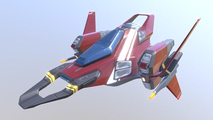 Bayonet - Ship 3D Model