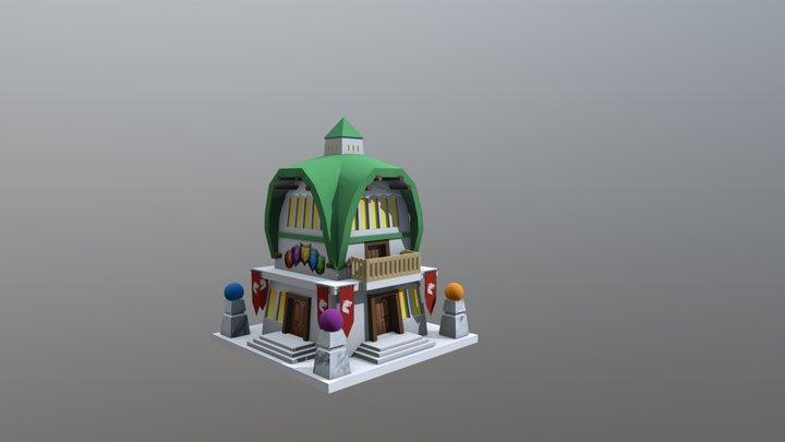 Hero Academy 3D Model