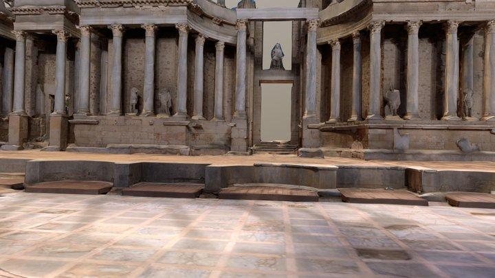 Teatro Romano Merida 3D Model