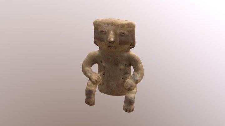 RC648 - Figurina Quimbaya (Julian2) 3D Model