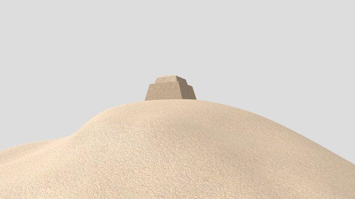 Meidum Pyramid 3D Model