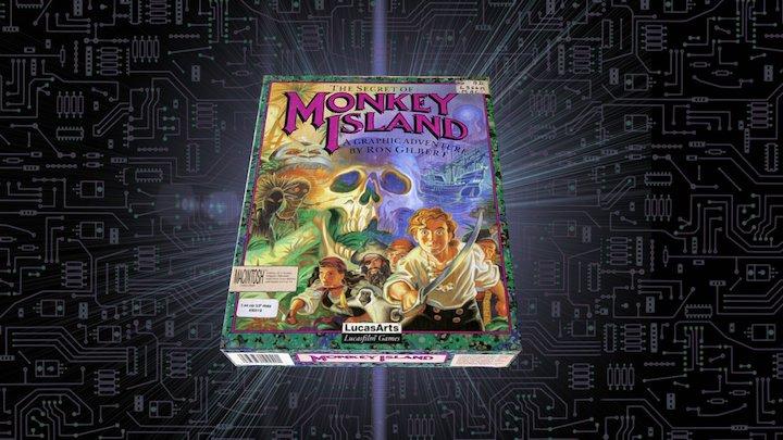 The Secret of Monkey Island I - 1990 3D Model