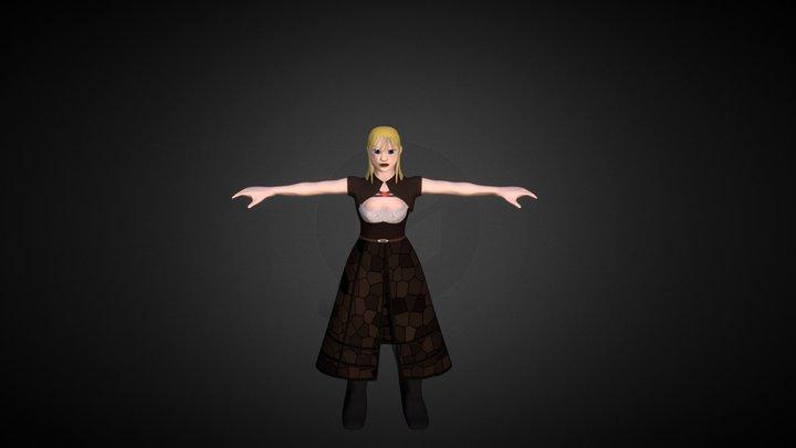 Character_Female 3D Model