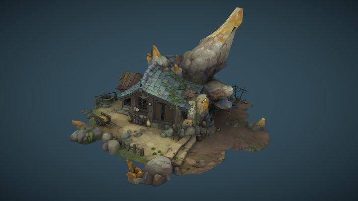 Gnome House 3D Model