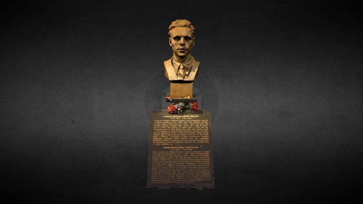 Josef Valčík 3D Model