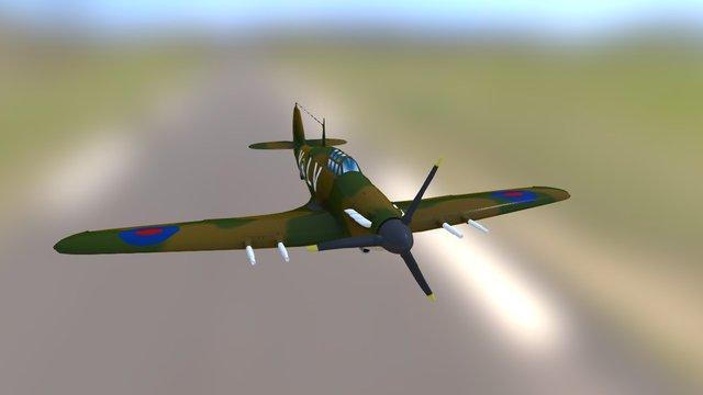 Hurricane 3D Model