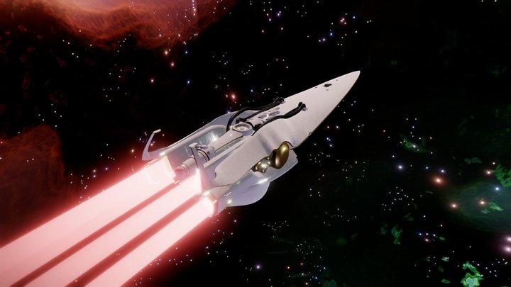 Brünhild - Legend of the Galactic Heroes 3D Model
