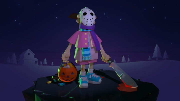 Trick or Treat 3D Model