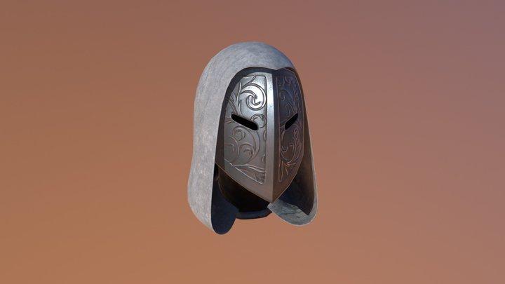 Peacekeeper Helmet 3D Model