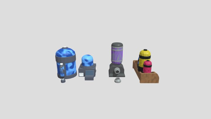 Extratores 3D Model